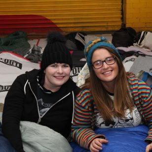 events featured image of supporters at sleep out