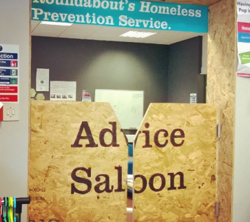Homeless Prevention Service Advice Saloon