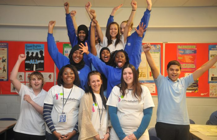 Roundabout Peer Educators at Hinde House school